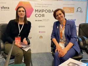 В Санкт-Петербурге завершил работу VI международный бизнес-форум «Мировая соя»